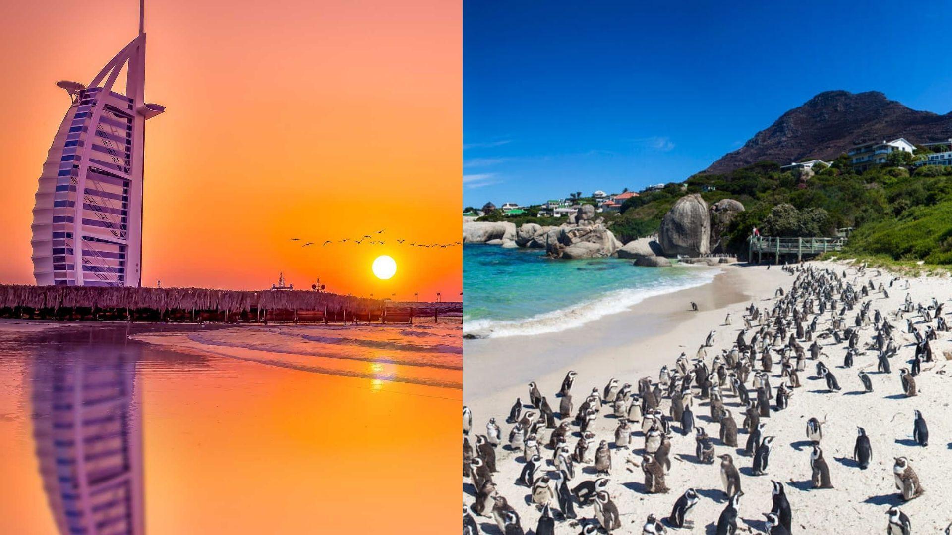 Sud Africa e Dubai